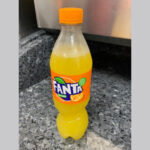 Fanta Orange Bottle