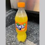 Fanta Orange Bottle