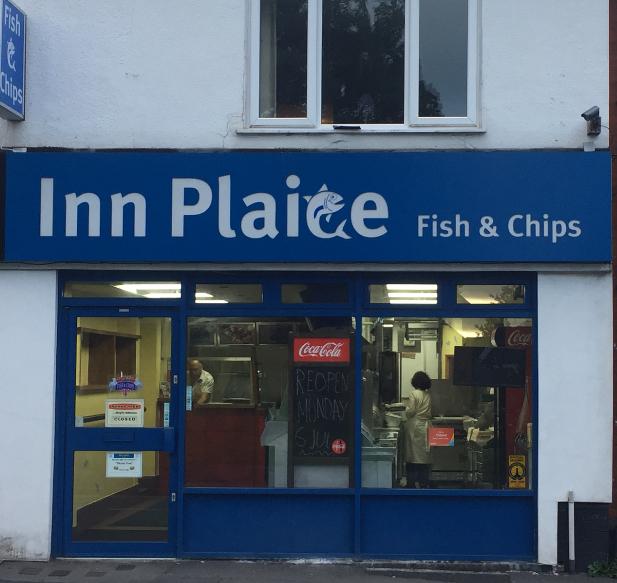 Inn Plaice shop front