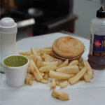 Beef Pie with chips